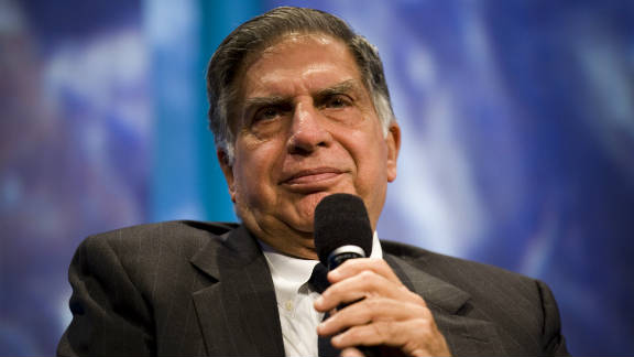 Chairman of Tata Sons, Ratan Tata (pictured above), will be succeeded by 43-year-old Cyrus Pallonji Mistry.