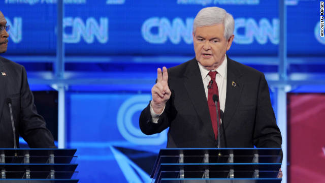 Newt Gingrich injected a note of reason on immigration at Tuesday's debate, says Ruben Navarrette.