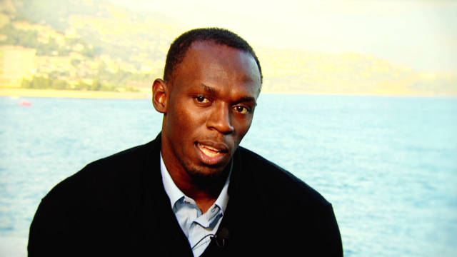 Quickfire questions with Usain Bolt