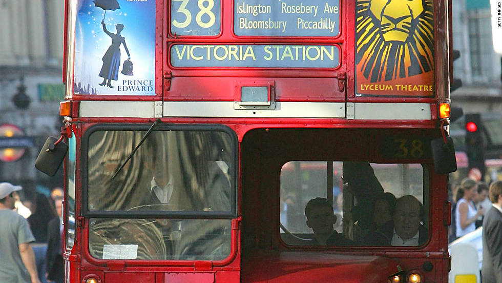 The classic London Routemaster, pictured in 2005.