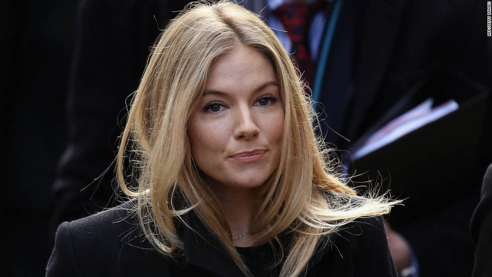 "Actress Sienna Miller<a href=""http://www.cnn.com/2011/WORLD/europe/04/10/uk.phonehacking/""> won a court case on April 5, 2011, </a>to access phone records to see if her phone had been hacked and later recieved a settlement of 100,000 pounds ($163,550)."