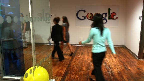 Google employs 31,300 people. The company's co-founder, Sergey Brin, was born in Russia.