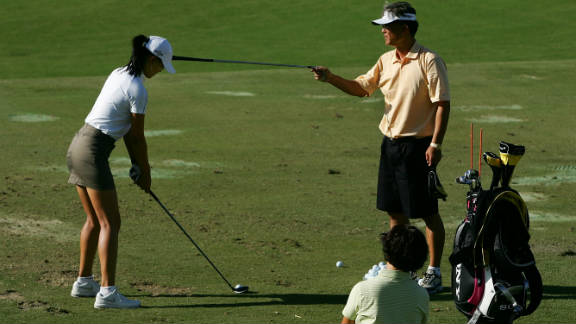 """""""So much of golf is based around how you set your foundations. It"""