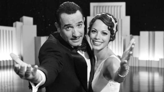 """The Artist,"" starring Jean Dujardin and Berenice Bejo, racked up 11 Critics"