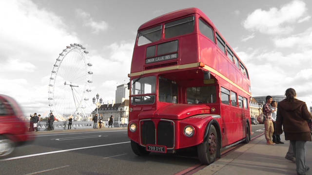 Iconic London bus gets makeover