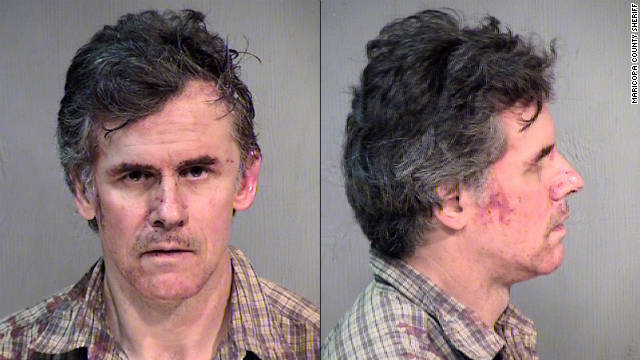Jerald Newman, 54, spent Friday night in a Maricopa County jail hours after being arrested.