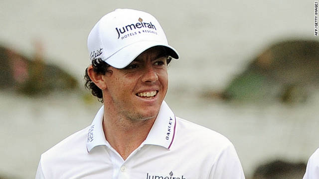 Rory McIlroy, left, and Graeme McDowell lead the 56th World Cup of Golf in Haikou, Hainan Island.