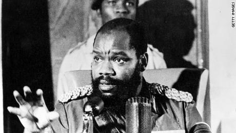 Leader of Biafra breakaway state dies