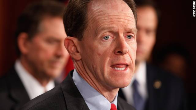 GOP Sen. Pat Toomey of Pennsylvania wants to curtail the hit the Defense Department would take under automatic cuts.