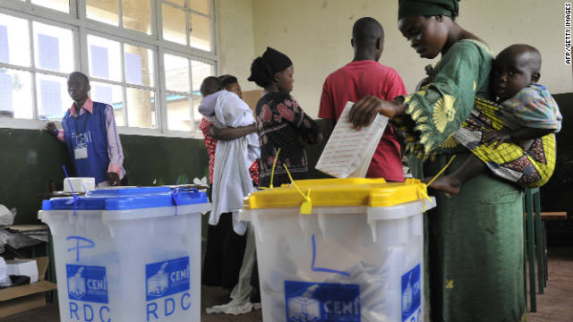 Tensions increases as Congolese vote