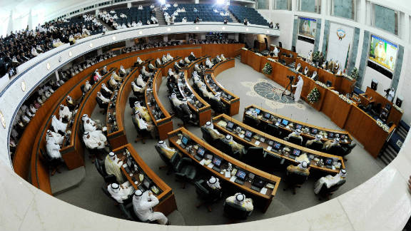 Kuwait's outgoing prime minister and cabinet will stay on in a caretaker capacity until a new government is formed.