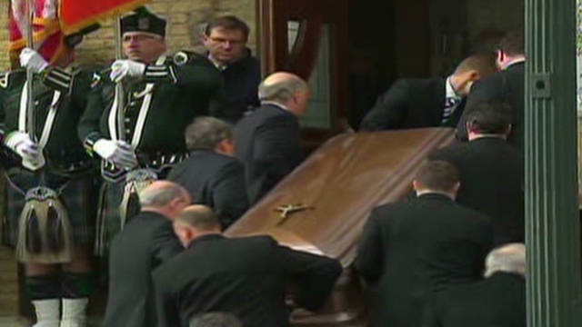 Funeral held for Maggie Daley