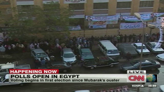 Egypt's first 'real' elections