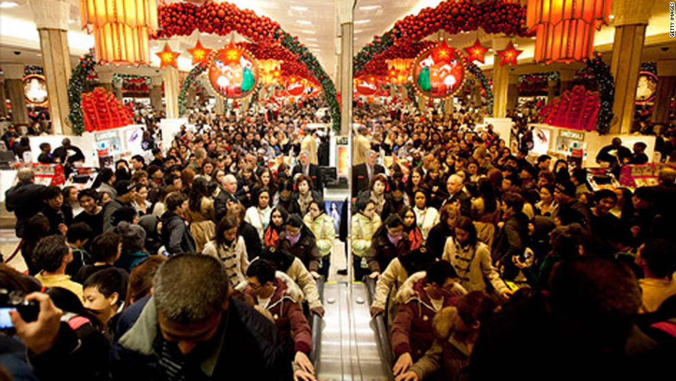 Black Friday, commonly known as the biggest shopping day of the year in the U.S., has become a holiday in its own right in recent years, at least from a retail point of view. Consumers often line up as early as midnight to take advantage of pre-Christmas sales.