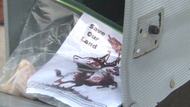 KKK fliers left in mailboxes