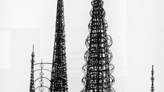 """The Watts Towers were built between the 1920s and 50s and are a much-loved example of so-called """"vernacular"""" or folk art."""