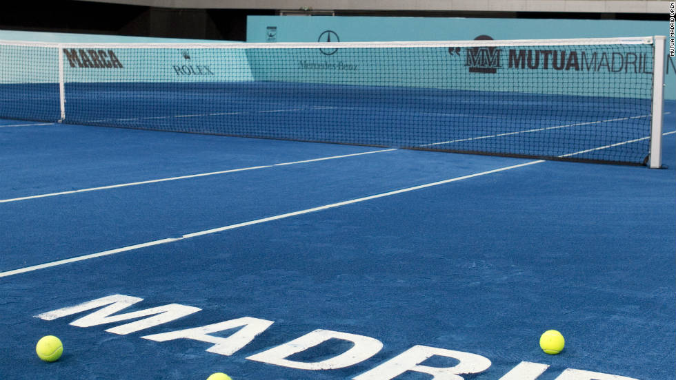 Is Blue The New Red Madrid S Clay Court Revolution Cnn