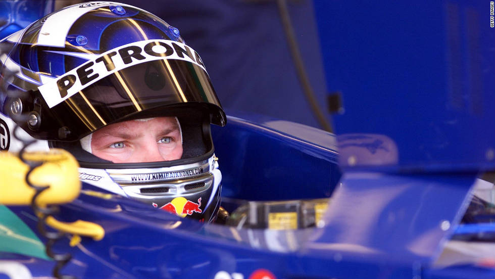 Kimi Raikkonen made his Formula One breakthrough with Sauber in 2001, with the highlights of his debut season being fourth place finishes in Austria and Canada.