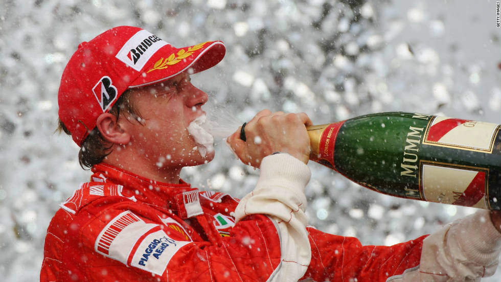 The high point of Raikkonen's career-to-date arrived at the 2007 Brazilian Grand Prix, where his victory helped him clinch the world championship despite entering the race third in the drivers' standings.