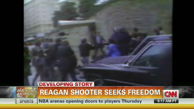 Will Reagan shooter be freed?