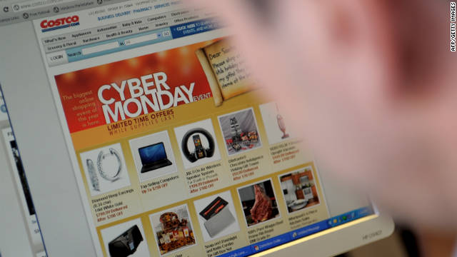 Americans spent $1.25 billion on Cyber Monday, making it the biggest online shopping day ever, comScore says.