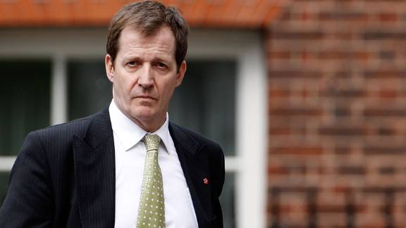 Alastair Campbell, Tony Blair's former communications director, was paid costs and undisclosed damages after the publisher apologizes for intercepting phone messages.