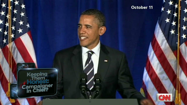 Obama: Campaigner in chief?