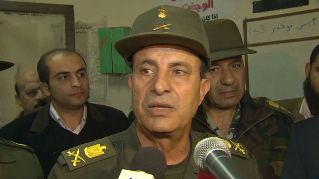 Egypt military: Election a success