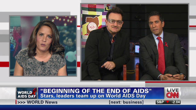 Bono, Gupta, Malveaux: World AIDS Day