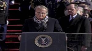 Billy Graham at Clinton inauguration (1993)