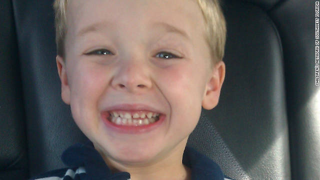 Zander McCready and his mother were found hiding in a closet, authorities say.
