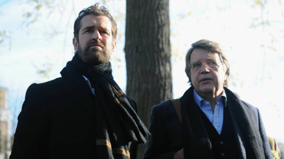 Actor Rupert Everett and Oscar Wilde's grandson, Merlin Holland, attended the unveiling ceremony on November 30, 2011 -- the 111th anniversary of Wilde's death.