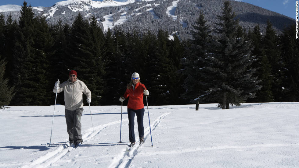 Cross-country skiing works every major part of your body, including shoulders, arms, back, chest, abs, butt and legs. You also burn more calories than in any other sport, according to Neal Henderson, sports science director at Colorado's Boulder Center for Sports Medicine.