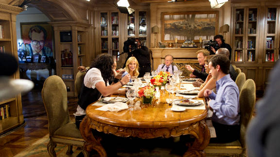 BreaKING bread: A-listers tell all at Larry