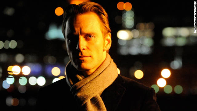 "Michael Fassbender, shown here in ""Shame,"" was surprisingly not called among the nominees for this year's Academy Awards."