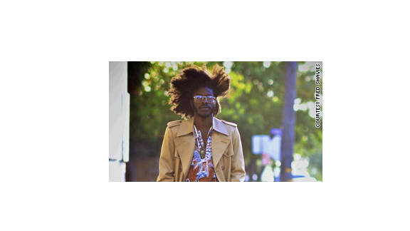Jesse Boykins III's musical heroes, and fashion influences, come from the classic soul era.