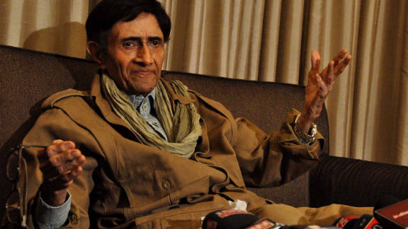 """Dev Anand, a Bollywood star, died of a heart attack December 4 at age 88. """"Dev Anand was a great artist who entertained generations of cinema lovers over five decades,"""" said Indian Prime Minister Manmohan Singh. Full story"""