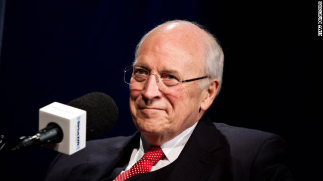Former Vice President Dick Cheney is interviewed in October 2011 in Washington.