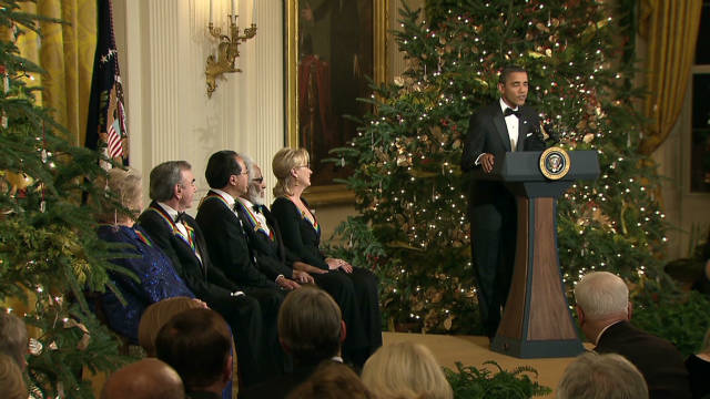 Obama honors the arts