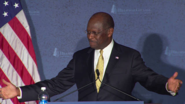 The battle for Herman Cain voters