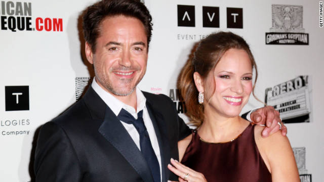 Robert Downey Jr  and wife Susan Downey are having a boy - CNN