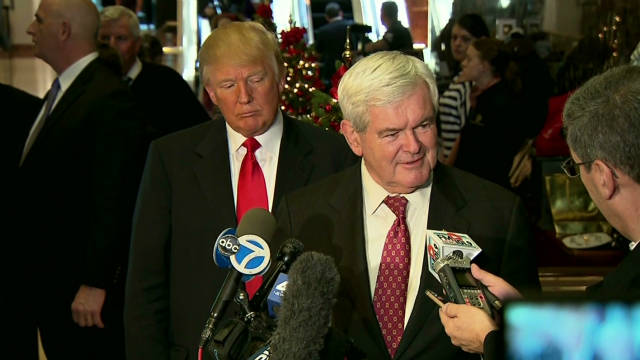Gingrich climbs in the polls