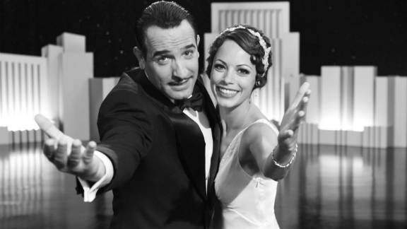 "Jean Dujardin and Bérénice Bejo in ""The Artist,"" which won the Oscar for best picture of 2011."