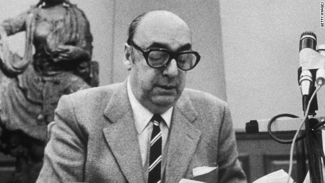 Pablo Neruda died on September 23, 1973, just 12 days after a right-wing military coup.