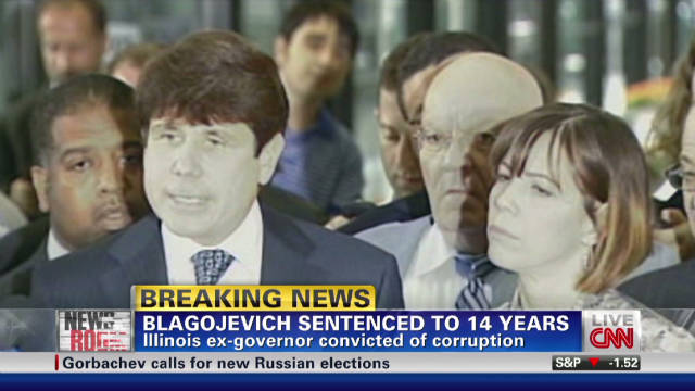Rod Blagojevich gets 14 years