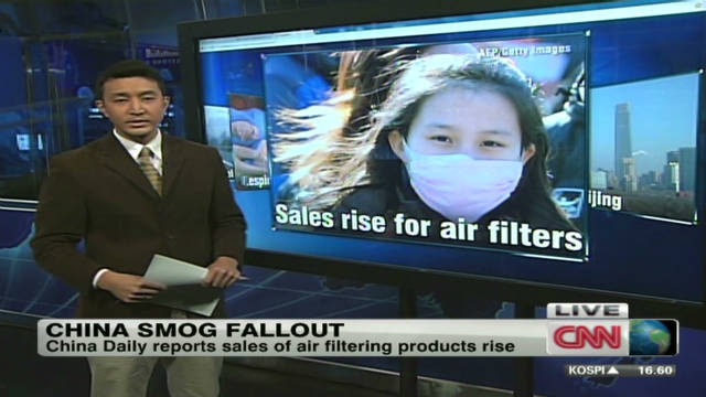 Smog impacts travel, health in China