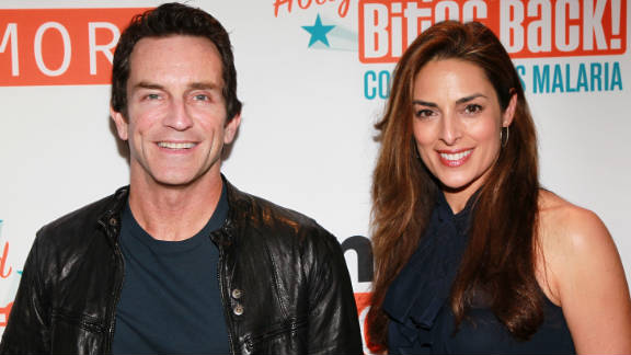 Jeff Probst and Lisa Ann Russell married Monday in front of family and friends in an intimate ceremony.