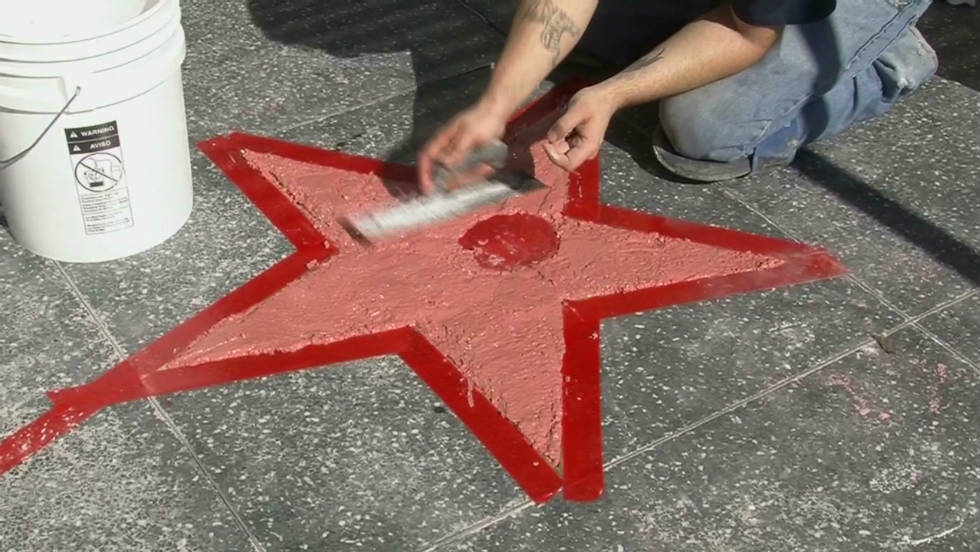 Behind The Scenes Of The Hollywood Walk Of Fame Cnn