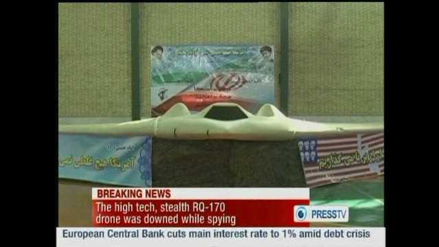 Video surfaces of alleged U.S. drone