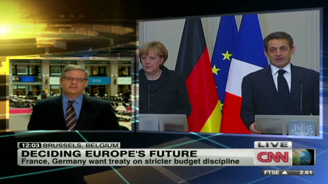 EU leaders to decide Europe's future